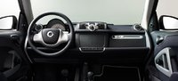 2013 smart fortwo, interior front controls, interior, manufacturer