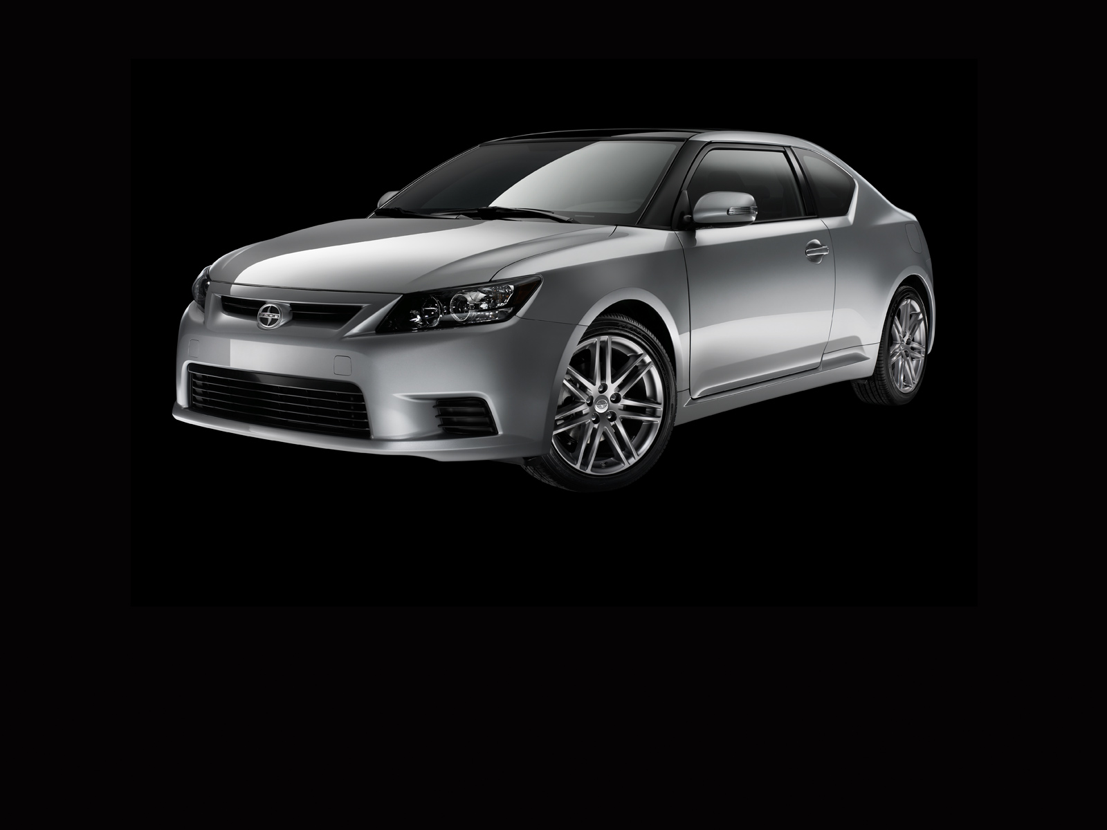 2013 Scion tC, exterior left front quarter view, exterior, manufacturer