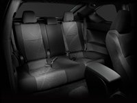 2013 Scion tC, interior rear view, interior, manufacturer
