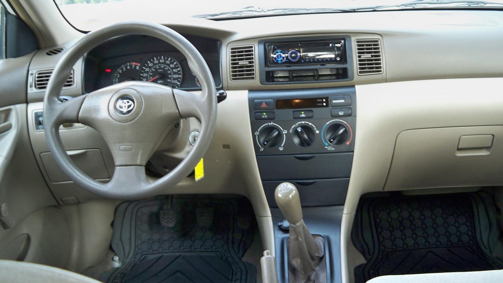 Toyota Corolla Interior 2002 Toyota Corolla ce Interior