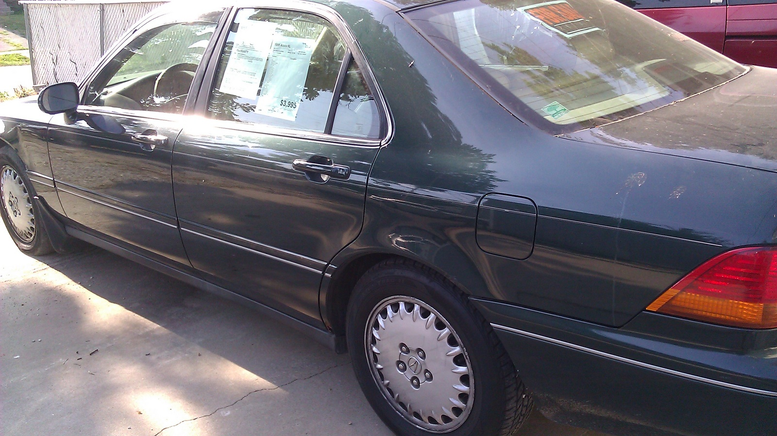 Picture of 1996 Acura RL 4 Dr 3.5 Sedan