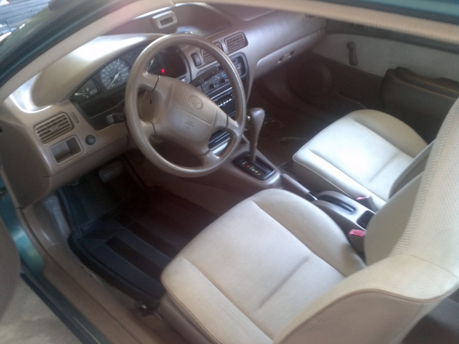 1996 Toyota Tercel 2 Dr DX Coupe picture, interior