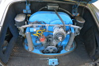 Picture of 1970 Volkswagen Karmann Ghia, engine