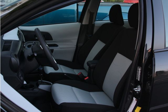 2012 Toyota Prius C Two picture, interior