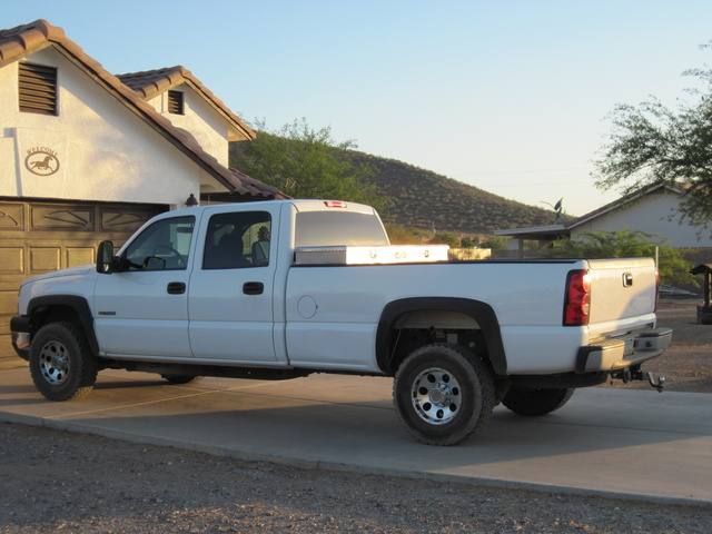 Picture of 2007 Chevrolet Silverado Classic 3500 Work Truck Crew Cab, exterior, gallery_worthy