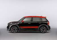2013 MINI Countryman John Cooper Works, exterior left side view full, manufacturer, exterior