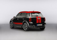 2013 MINI Countryman John Cooper Works, exterior left rear quarter view, exterior, manufacturer
