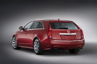2013 Cadillac CTS-V Wagon, exterior left rear quarter view, manufacturer, exterior