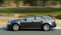 2013 Cadillac CTS-V Wagon, exterior left side view full, manufacturer, exterior
