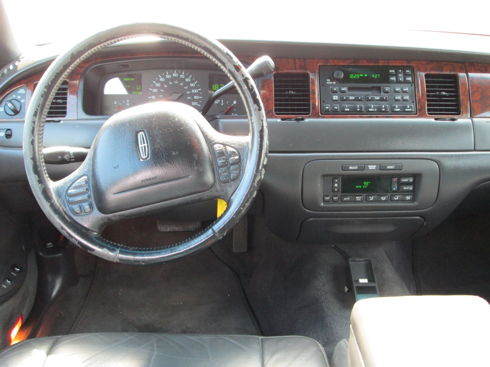 Lincoln Town Car 1998 Interior Lowrider Pictures Cargurus