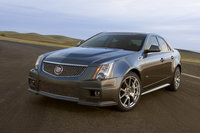 2013 Cadillac CTS-V, Front-quarter view. Copyright General Motors, manufacturer, exterior