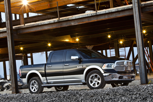 2013 Ram 1500, Front-quarter view, exterior, manufacturer, gallery_worthy