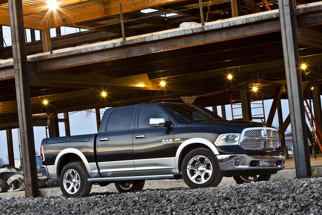 2013 Ram 1500, Front-quarter view, exterior, manufacturer
