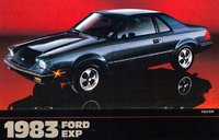 1982 Ford EXP Picture Gallery