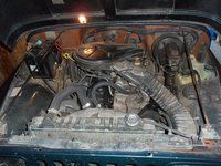 1987 Jeep Wrangler STD picture, engine