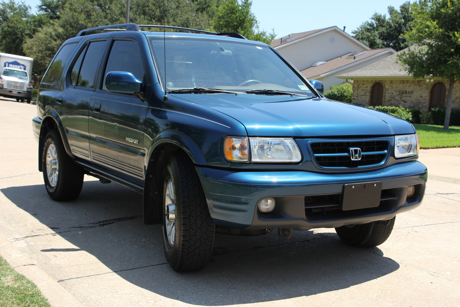2001 honda passport ex review. Black Bedroom Furniture Sets. Home Design Ideas