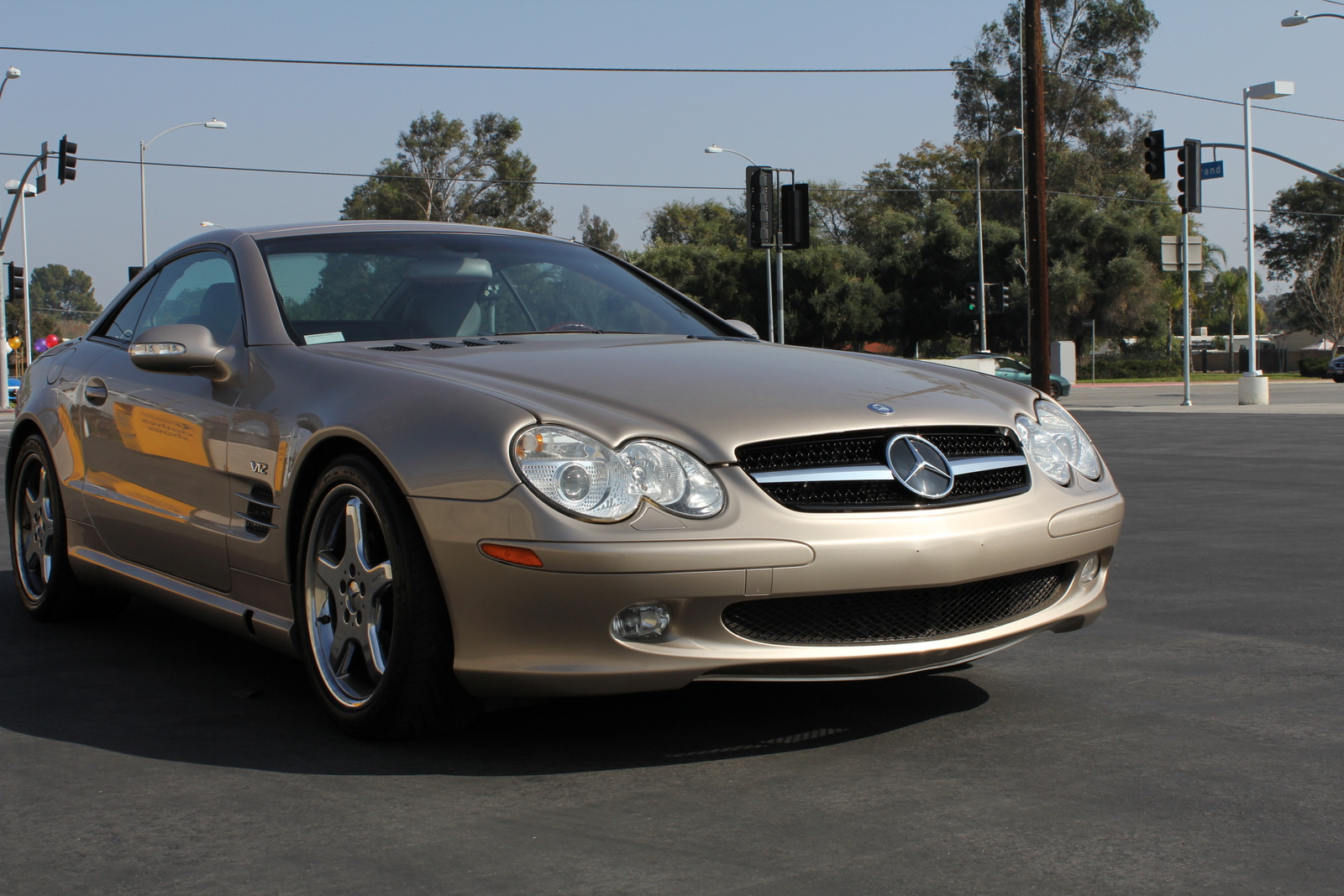 picture of 2003 mercedes benz sl class 2 dr sl500