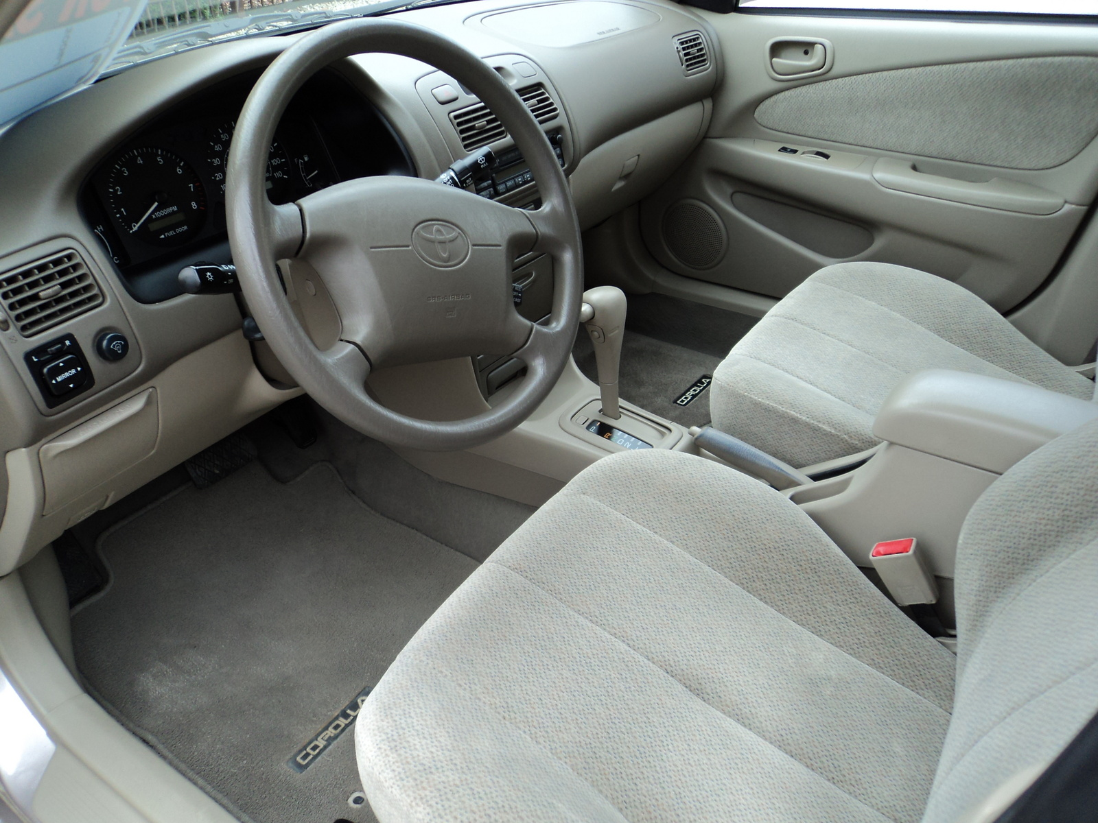 2001 toyota corolla interior pictures cargurus for Interior toyota corolla