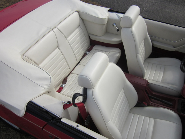 Picture of 1983 Ford Mustang LX Convertible RWD, interior, gallery_worthy
