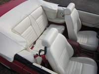 1983 Ford Mustang LX Convertible, Picture of 1983 Ford Mustang GLX Convertible Interior, interior