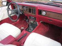 1983 Ford Mustang LX Convertible, Picture of 1983 Ford Mustang GLX Convertible, interior