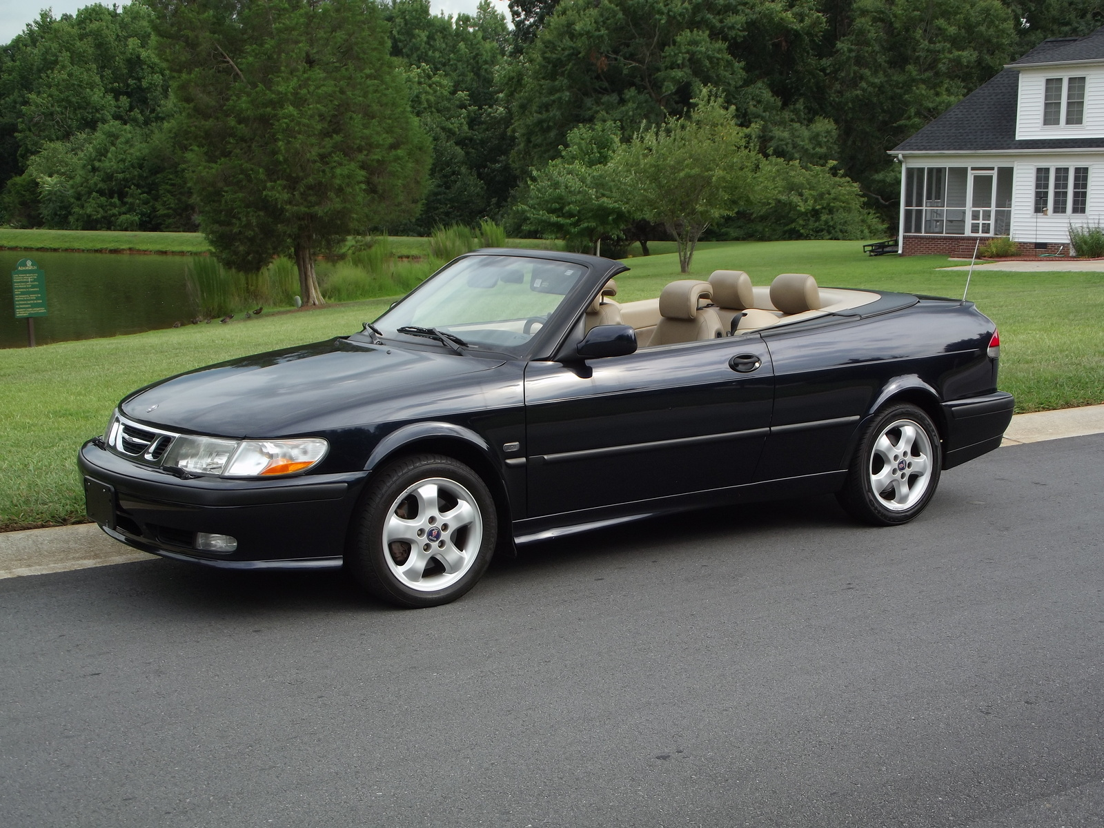 2001 saab 9 3 convertible pictures to pin on pinterest thepinsta. Black Bedroom Furniture Sets. Home Design Ideas