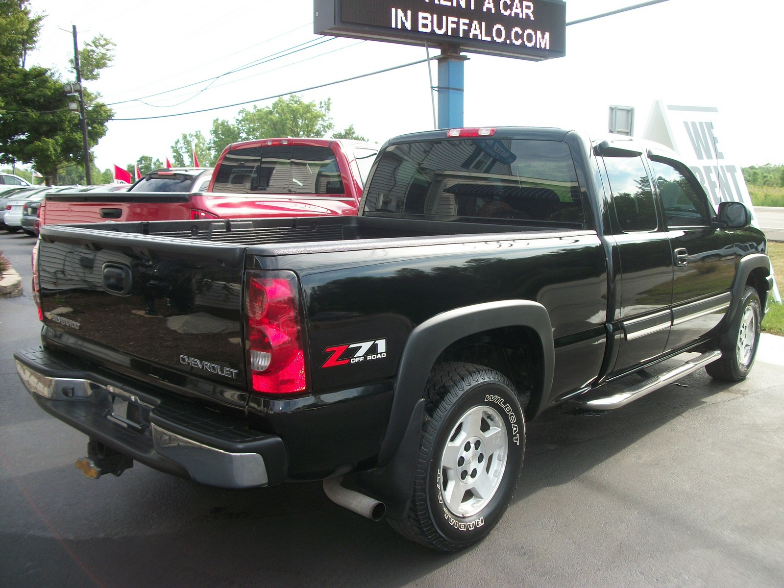 picture of 2004 chevrolet silverado 1500 lt crew cab 4wd exterior. Cars Review. Best American Auto & Cars Review