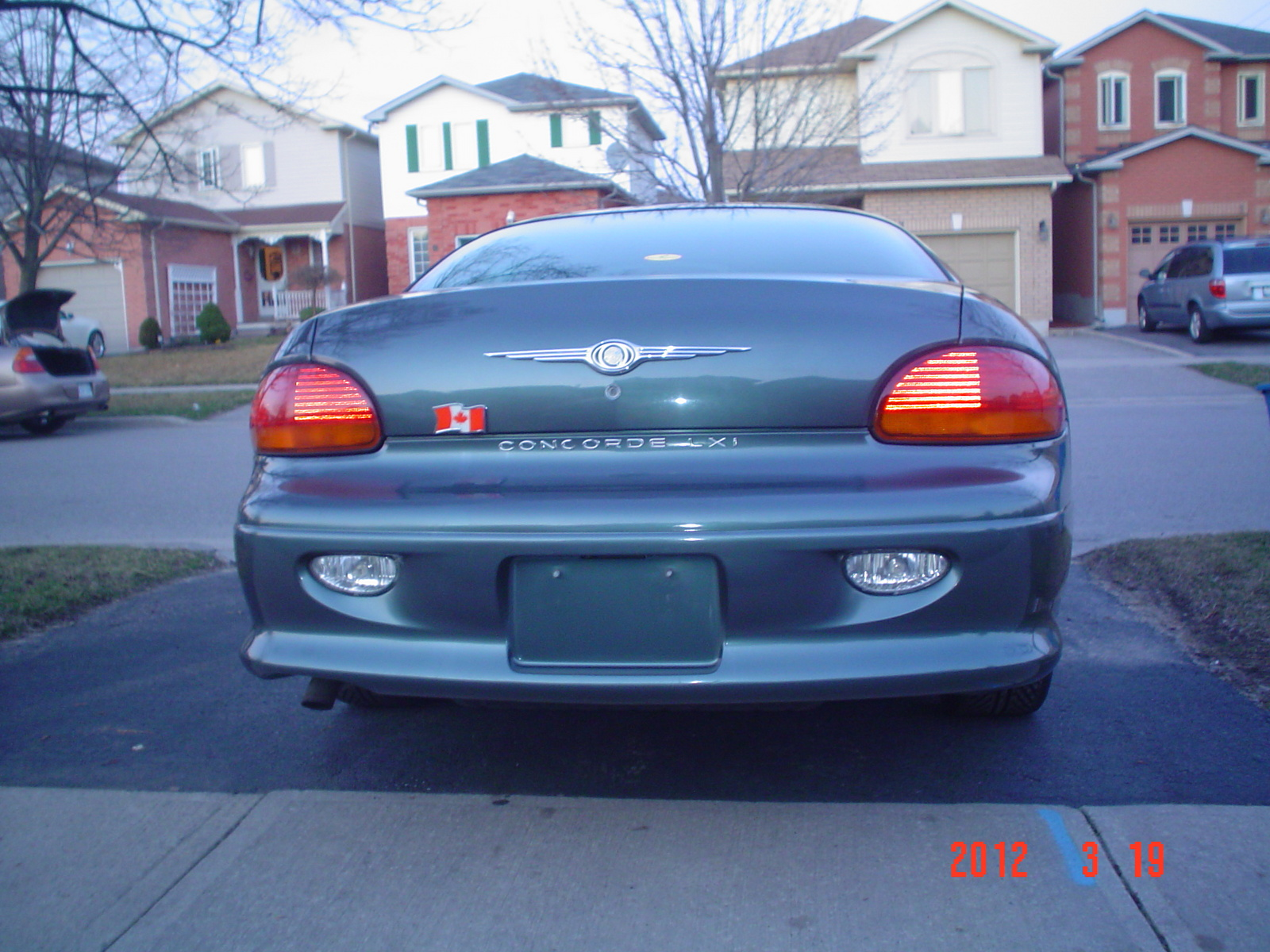 2002 Chrysler Concorde - Pictures - 2002 Chrysler Concorde LXi pic ...