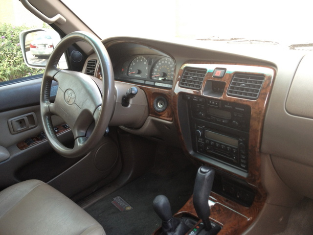 Picture Of 2000 Toyota 4Runner Limited 4WD, Interior, Gallery_worthy
