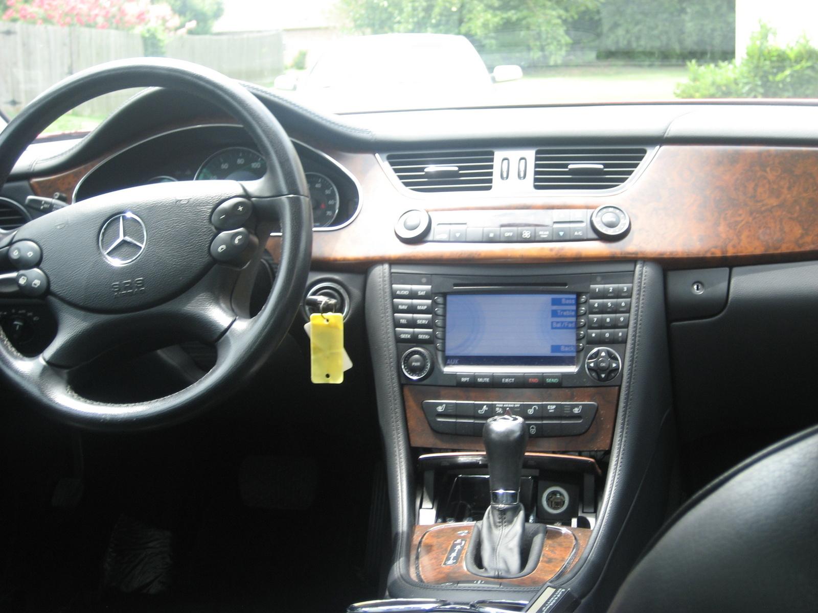 Mercedes Cls 2006 Interior 2006 Mercedes Benz Cls Class