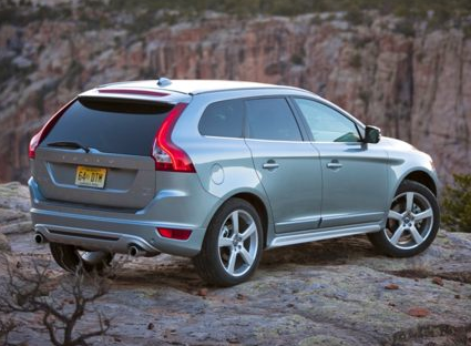 2013 Volvo XC60, Back quarter view copyright AOL Autos. , manufacturer, exterior