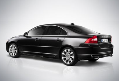 2013 Volvo S80, Back quarter view copyright AOL Autos., exterior, manufacturer