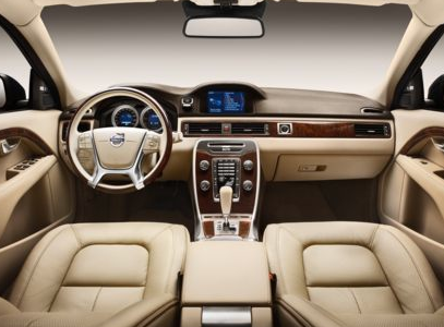 2013 Volvo S80, Front seat copyright AOL Autos., interior, manufacturer