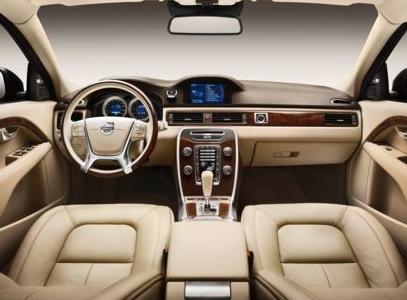 2013 Volvo S80, Front seat copyright AOL Autos., interior, manufacturer