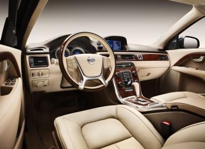 2013 Volvo S80, Drivers Seat copyright AOL Autos., interior, manufacturer