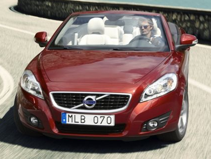 2013 Volvo C70, Front View copyright AOL Autos., exterior, manufacturer