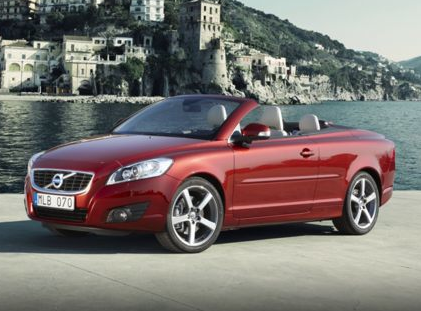 2013 Volvo C70, Front quarter view copyright AOL Autos., exterior, manufacturer