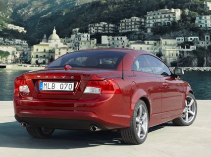 2013 Volvo C70, Back quarter view copyright AOL Autos., exterior, manufacturer