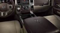 2013 Ram 1500, interior front middle view, manufacturer, interior