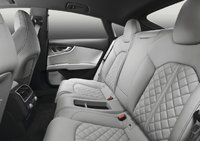 2013 Audi S7, interior rear view, interior, manufacturer