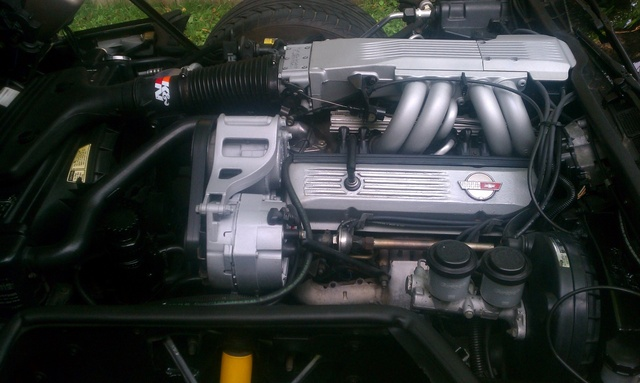 Picture of 1985 Chevrolet Corvette Coupe, engine