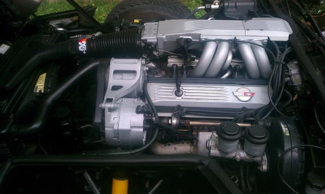Picture of 1985 Chevrolet Corvette Coupe, engine