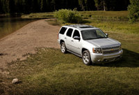 2013 Chevrolet Tahoe, Front-quarter view. Copyright General Motors, exterior, manufacturer