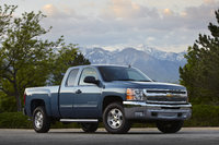 2013 Chevrolet Silverado 1500, Front-quarter view. Copyright General Motors, exterior, manufacturer