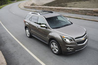 2013 Chevrolet Equinox, Front-quarter view. Copyright General Motors, manufacturer, exterior