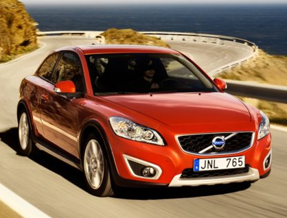 2013 Volvo C30, Front View copyright AOL Autos., manufacturer, exterior