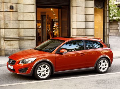 2013 Volvo C30, Front quarter view copyright AOL Autos., exterior, manufacturer