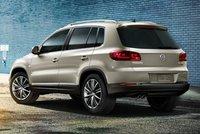 2013 Volkswagen Tiguan, Back quarter view., exterior, manufacturer