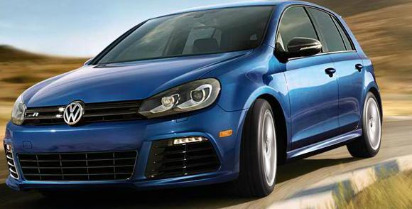 2013 Volkswagen Golf R, Front quarter view., exterior, manufacturer