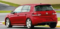 2013 Volkswagen Golf R, Back quarter view., manufacturer, exterior